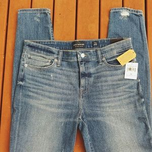 NWT Lucky Brand Ava Mid Ride Skinny Jeans 12/31